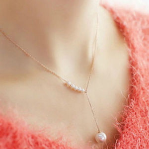 Jewelry - Boho Fashion Jewelry Elegant Necklace pearl